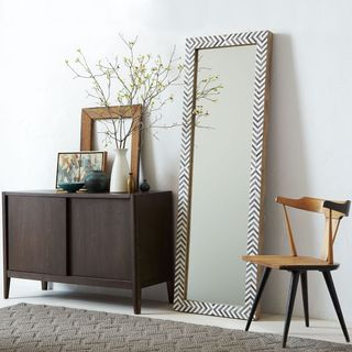 Parsons-floor-mirror-gray-herringbone-o